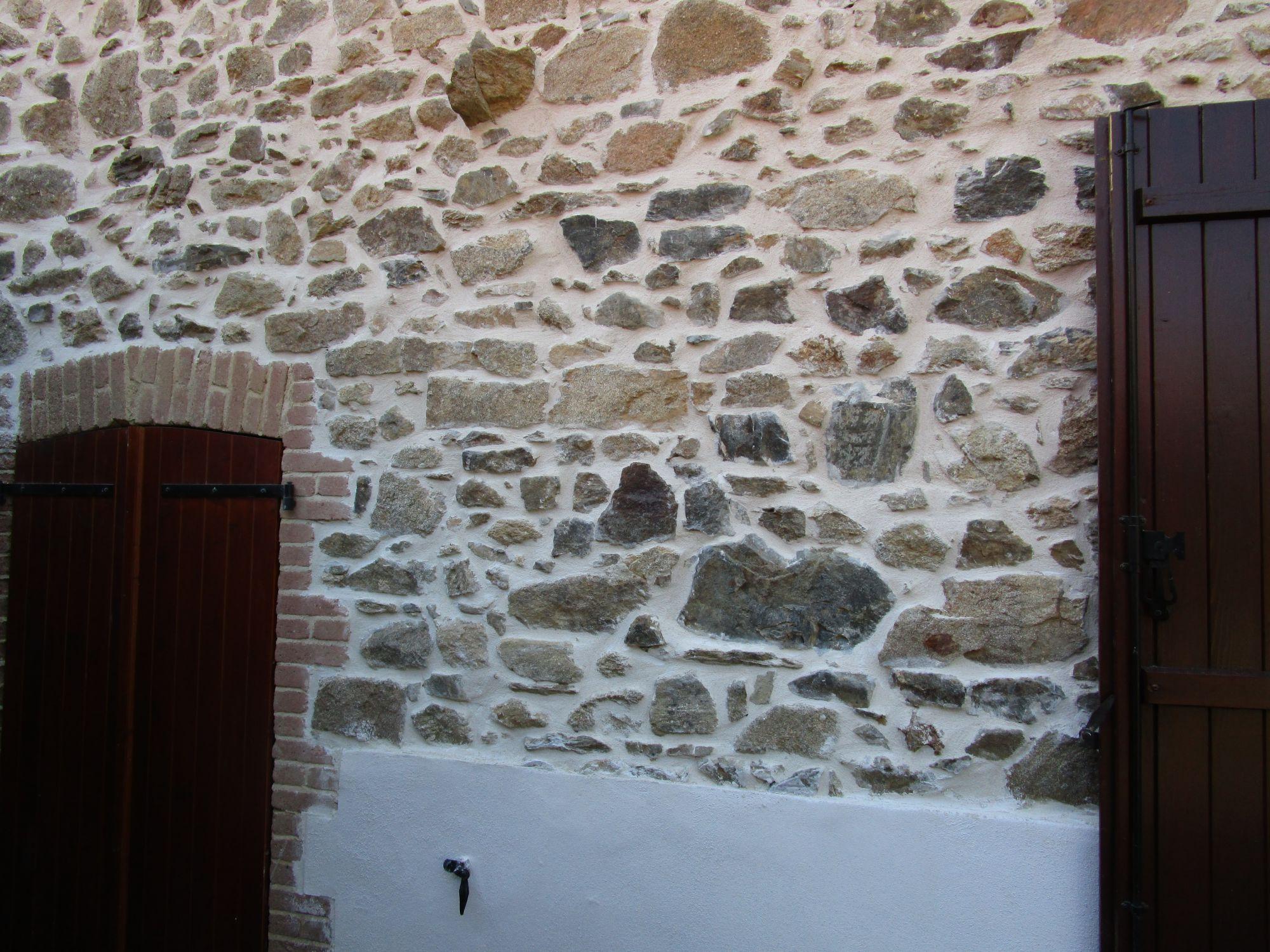 Facade en pierres